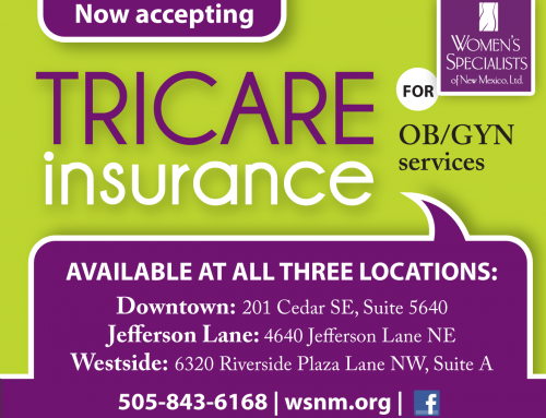 Tricare Insurance Now Accepted!