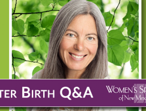 Waterbirth Q&A with Liz Withnall, CNM