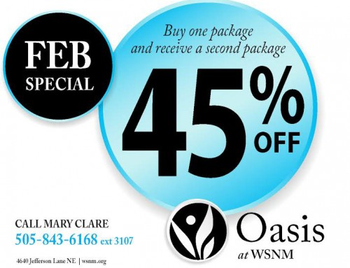Save on Laser Hair Removal in February.